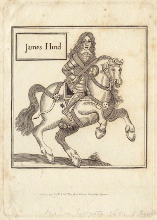 NPG D29229; James Hind published by John Scott