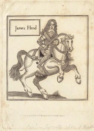 NPG D29229; James Hind published by John Scott