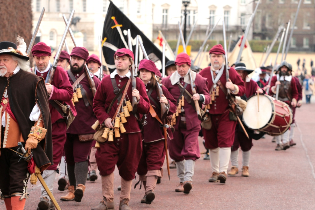 English Civil War Society re-enacts Charles I's trial and execution