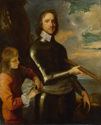 NPG 536; Oliver Cromwell by Robert Walker