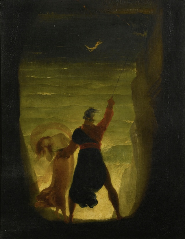 'A_Scene_from_the_Tempest,_Prospero_and_Ariel'_by_Joseph_Severn