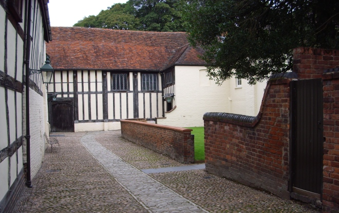 Courtyard of Commandery