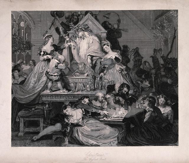 """""""Christmas - The Wassail Bowl"""" ~ Hollis, Thomas (1818–1843)"""