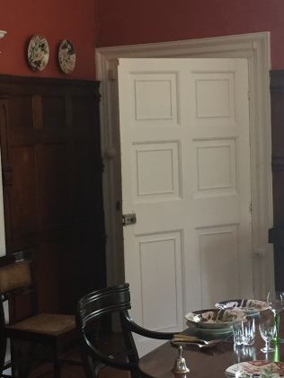 Door leading to kitchen
