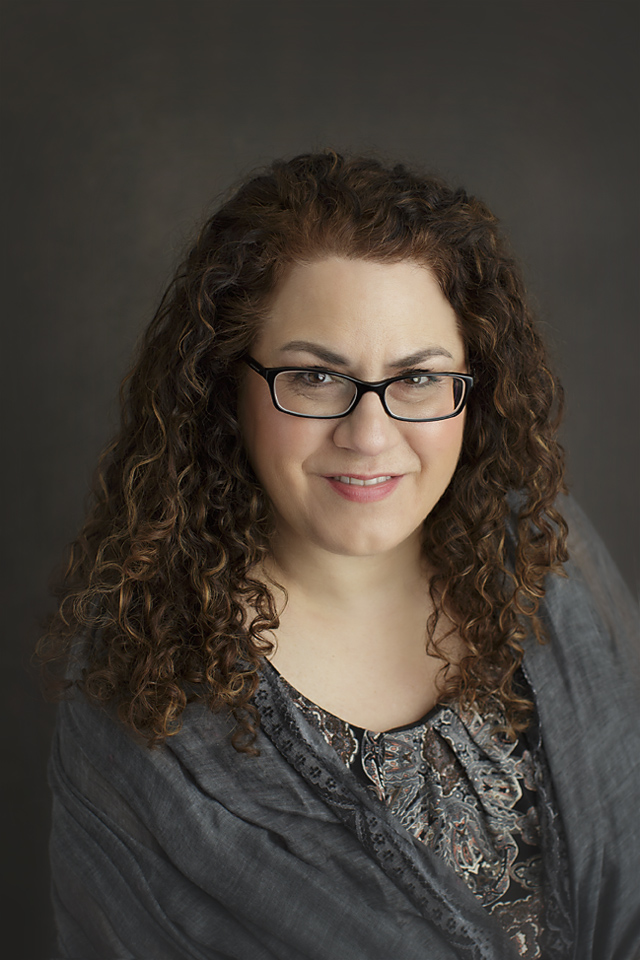 Headshot of author Cryssa Bazos